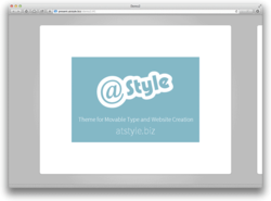 Movable Type 6 html5slides